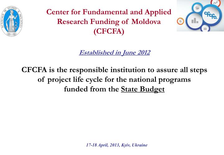 Center for Fundamental and Applied