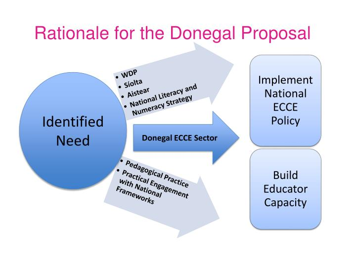 Rationale for the Donegal Proposal