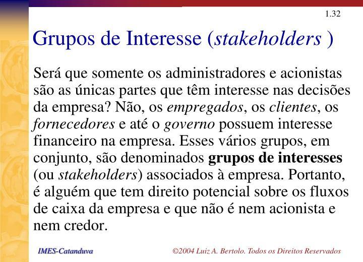 Grupos de Interesse (