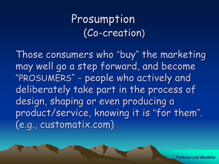 Prosumption