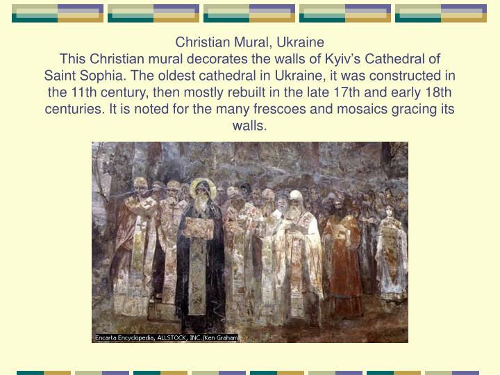 Christian Mural, Ukraine