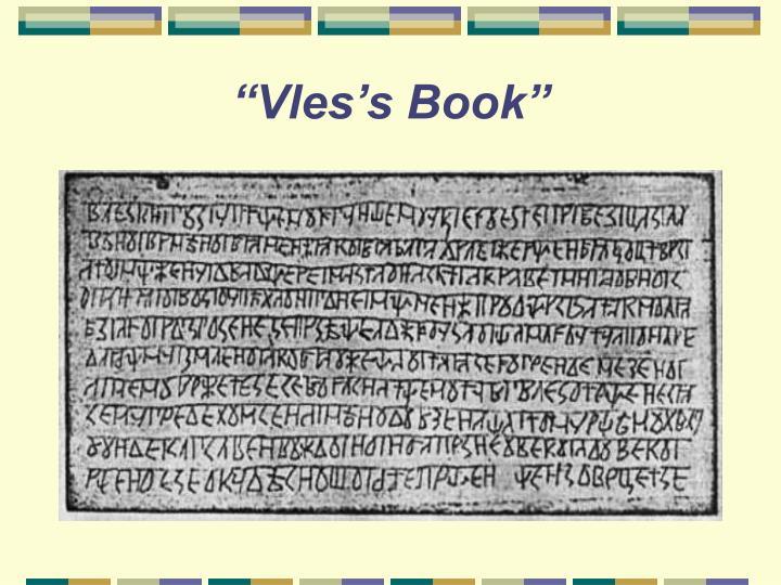 """""""Vles's Book"""""""