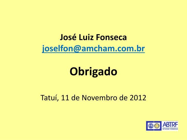 José Luiz Fonseca