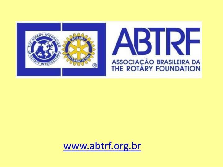 www.abtrf.org.br