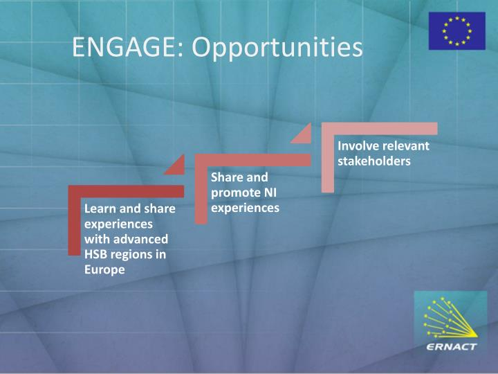 ENGAGE: Opportunities
