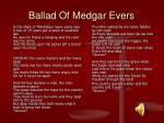 ballad of medgar evers