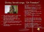 shirley verrett sings oh freedom