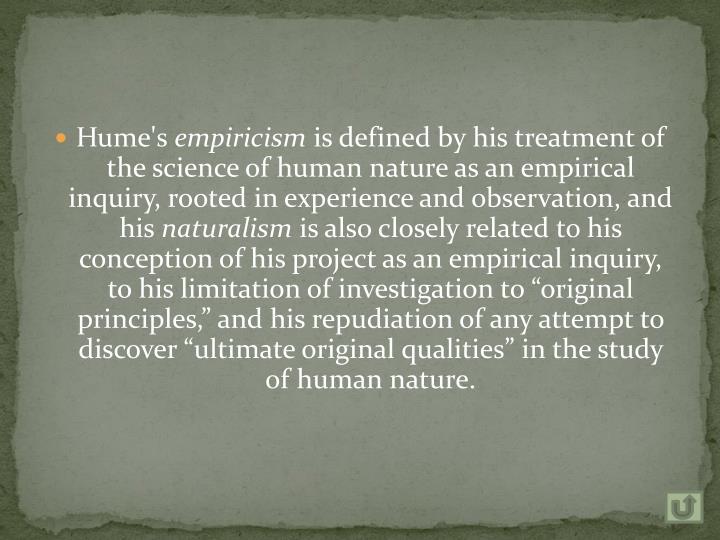 Hume's