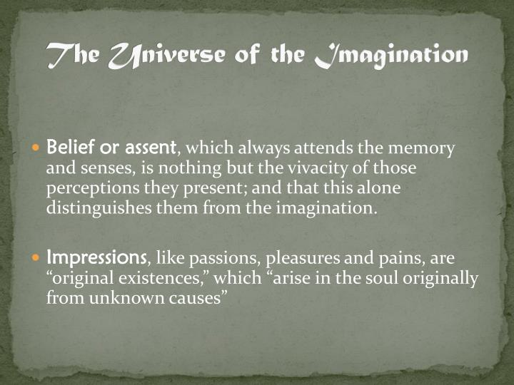 The Universe of the Imagination