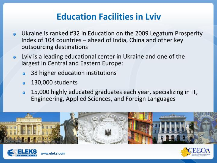 Education Facilities in Lviv