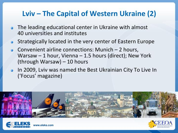 Lviv – The Capital of Western Ukraine (2)