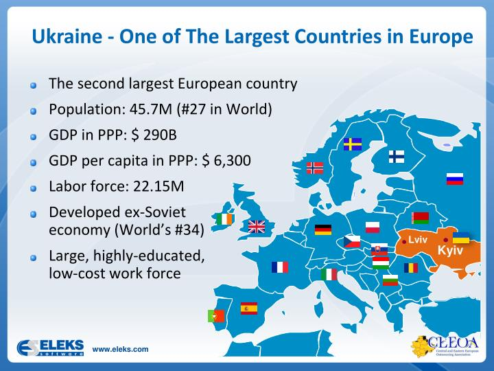 Ukraine - One of The Largest Countries in Europe
