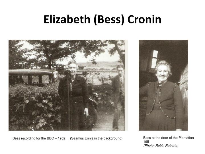 Elizabeth (Bess) Cronin