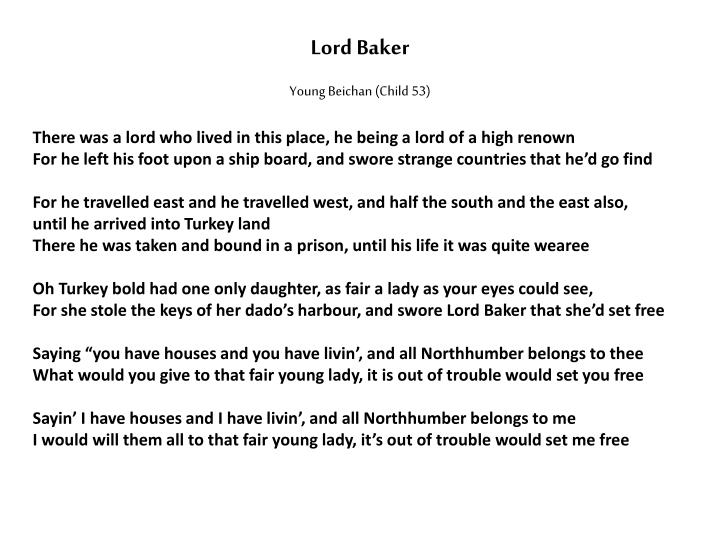 Lord Baker