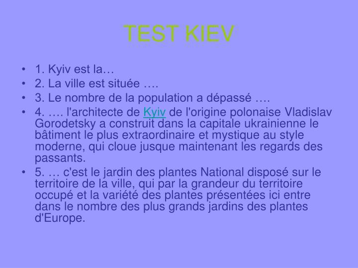 TEST KIEV