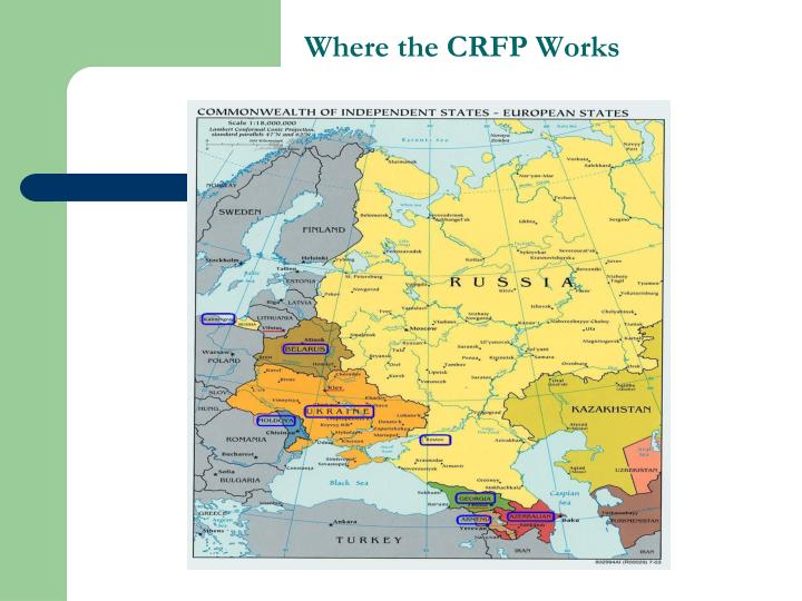 Where the CRFP Works