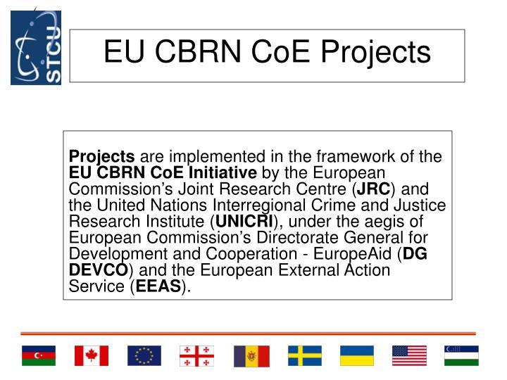 EU CBRN CoE Projects