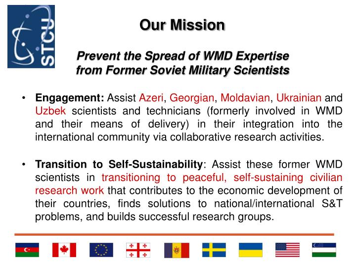Prevent the Spread of WMD Expertise
