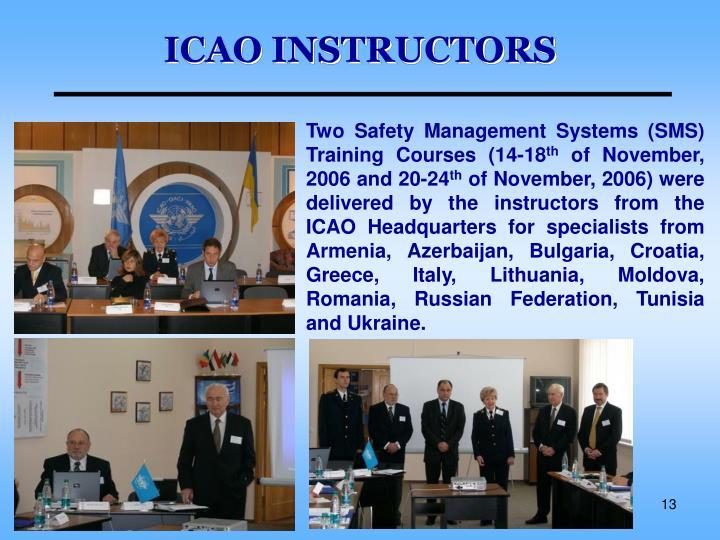 ICAO INSTRUCTORS