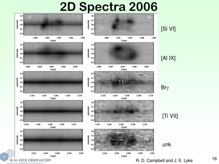 2D Spectra 2006