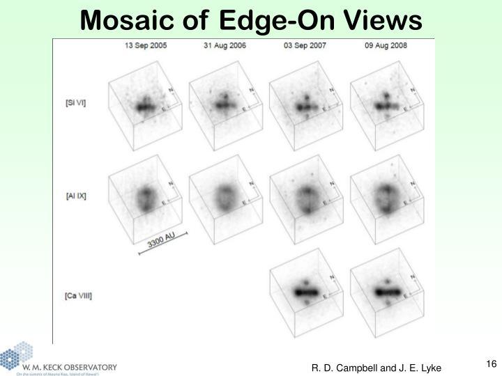 Mosaic of Edge-On Views