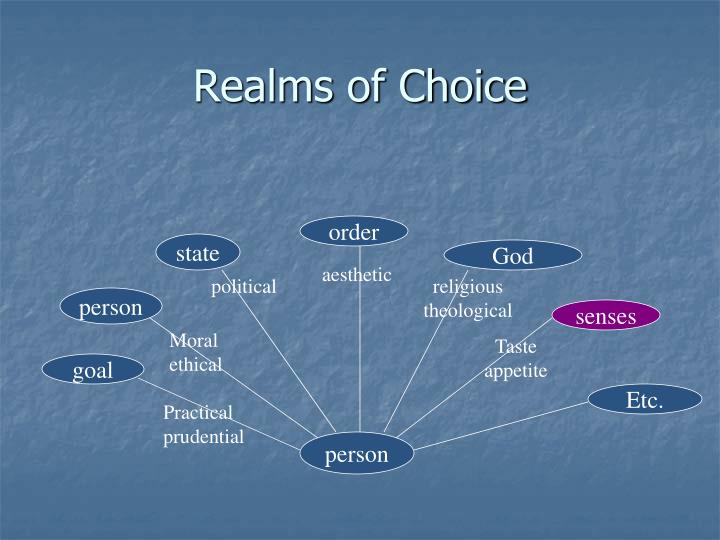 Realms of Choice