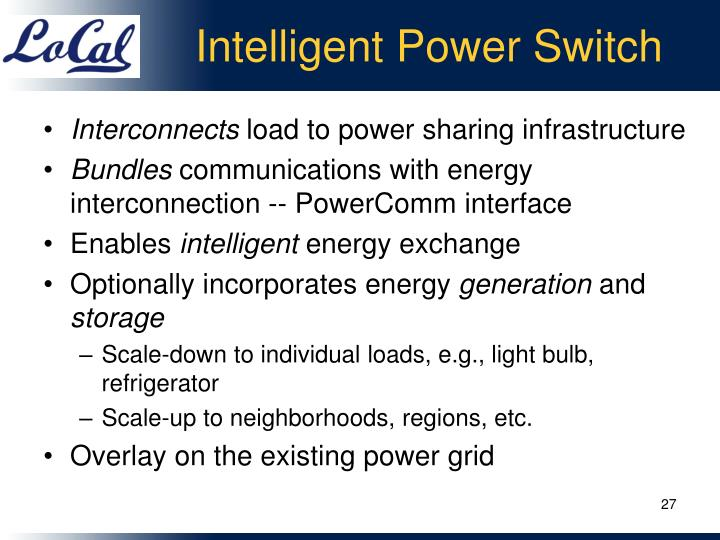 Intelligent Power Switch