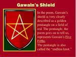 gawain s shield