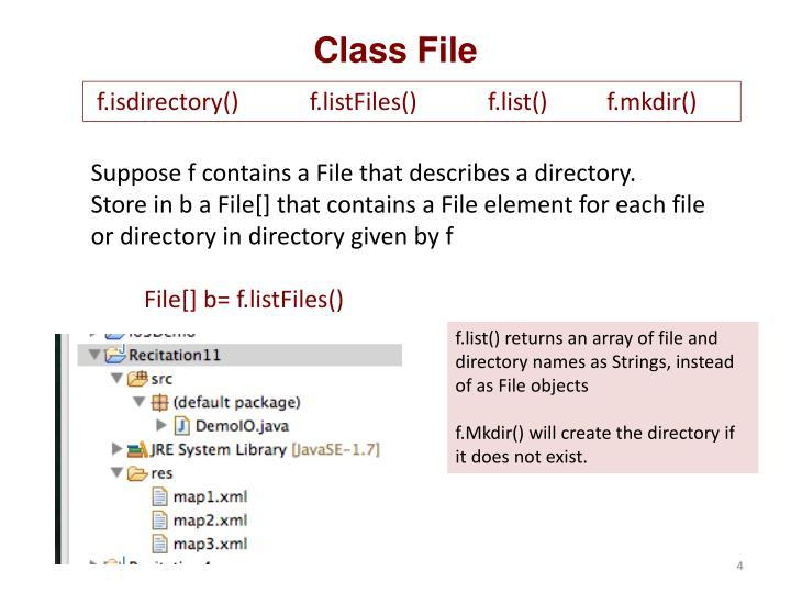 Class File