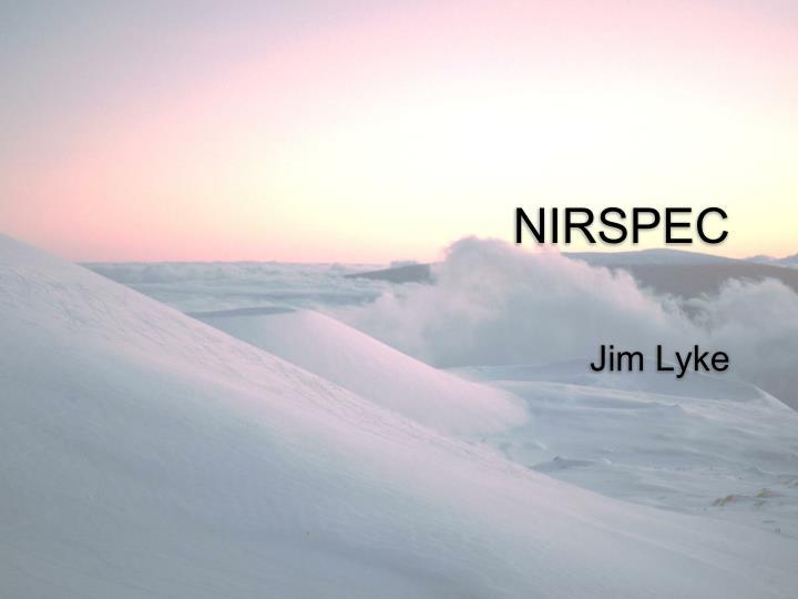 NIRSPEC