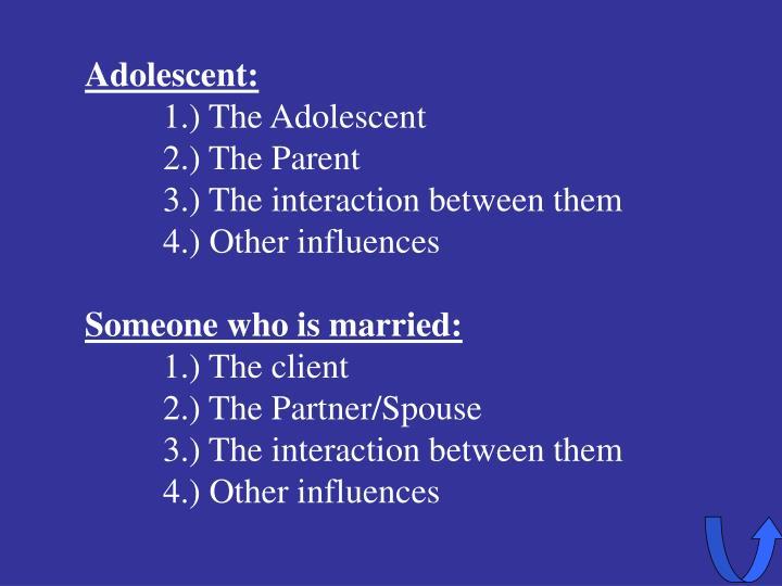 Adolescent: