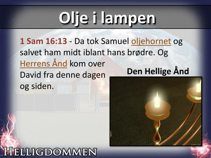 Olje i lampen