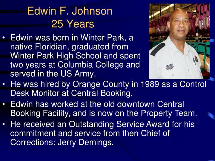 Edwin F. Johnson