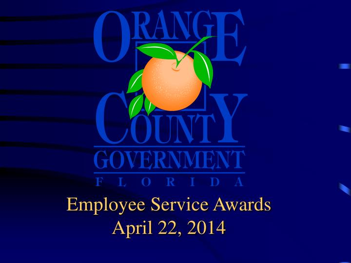 Employee Service Awards