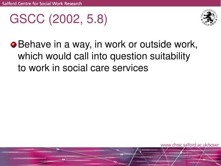 GSCC (2002, 5.8)