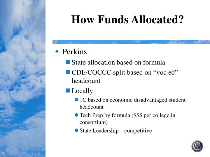 How Funds Allocated?