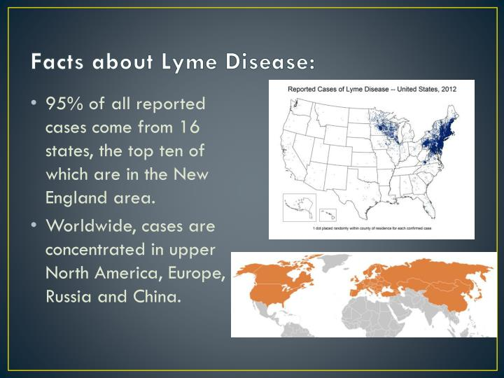 Facts about Lyme Disease: