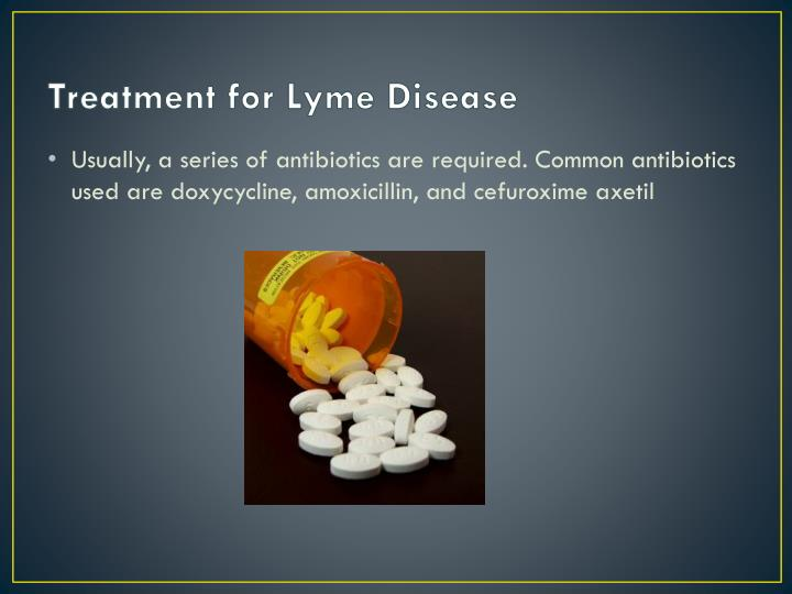 Treatment for Lyme Disease