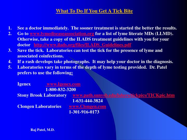 What To Do If You Get A Tick Bite