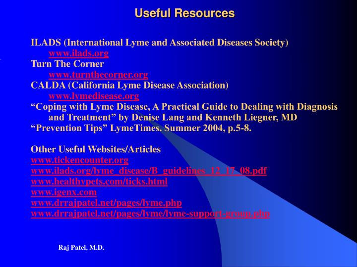 ILADS (International Lyme and Associated Diseases Society)