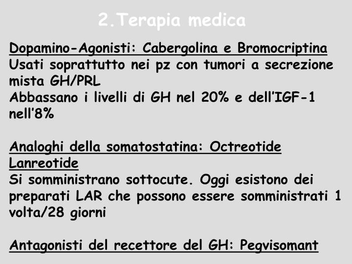 2.Terapia medica