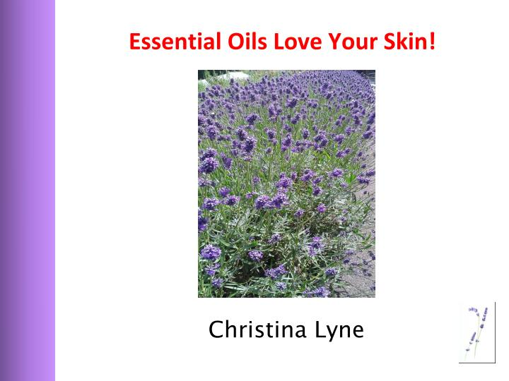 essential oils love your skin