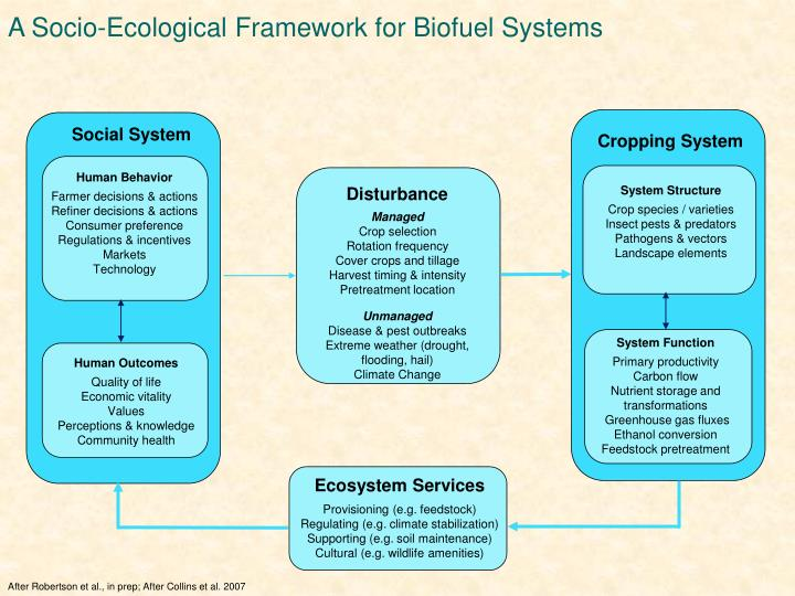 A Socio-Ecological Framework for Biofuel Systems