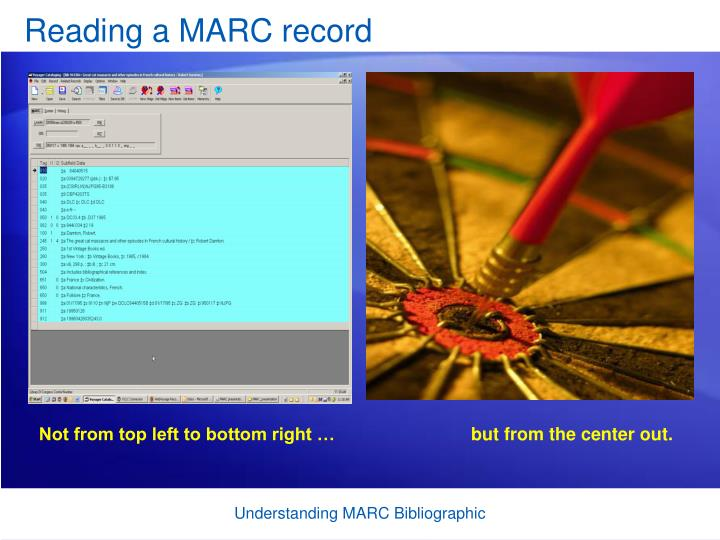 Reading a MARC record