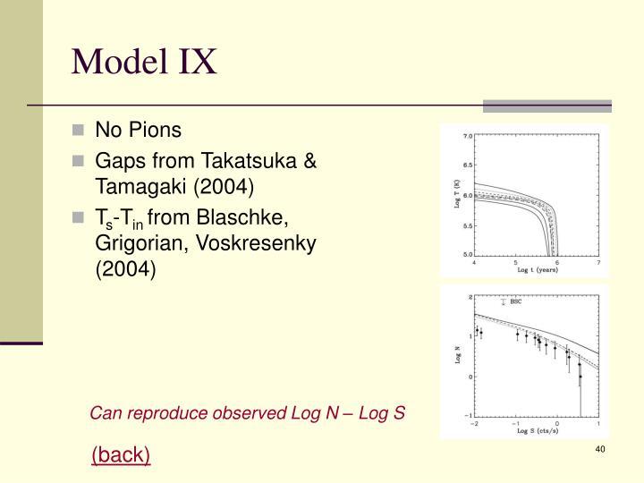 Model IX