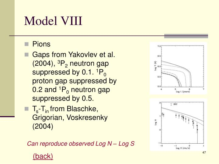 Model VIII