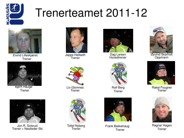 Trenerteamet 2011-12