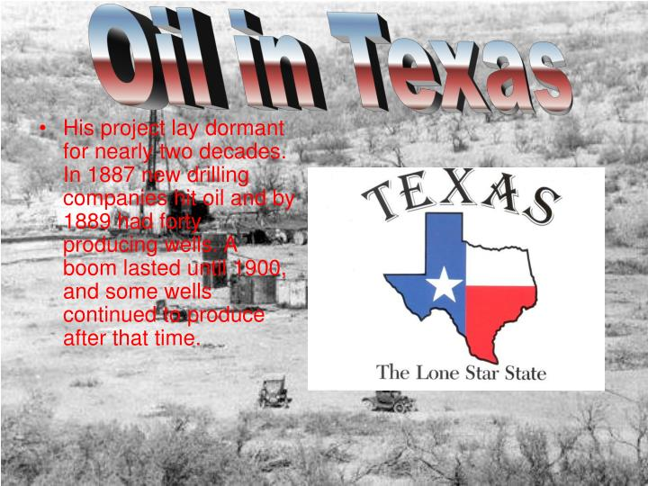 Oil in Texas