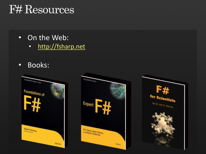 F# Resources