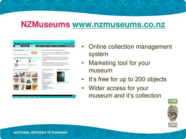 NZMuseums
